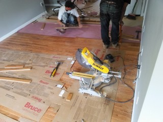 hardwood floor cost