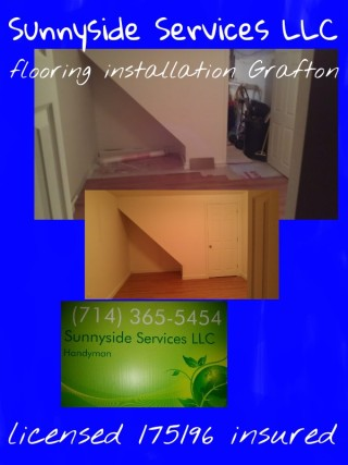 Flooring installation Grafton