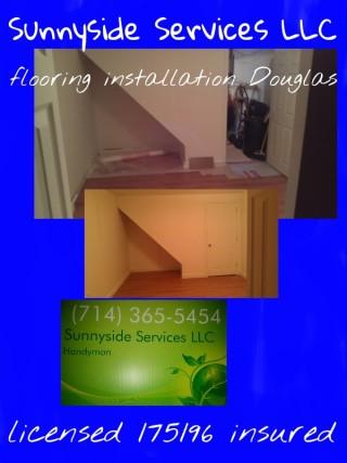 Flooring installation Douglas